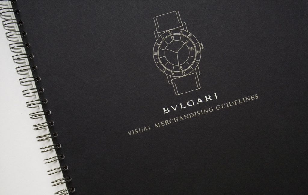 Koen Ivens Bulgari Visual Merchandising Guidelines__01