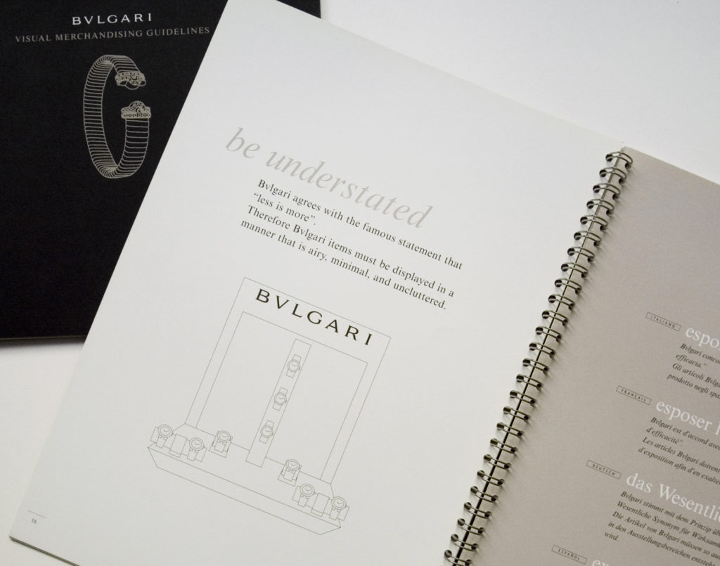 Koen Ivens Bulgari Visual Merchandising Guidelines__02
